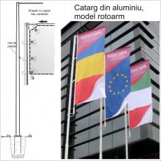Catarg sectional din aluminiu - ROTOARM