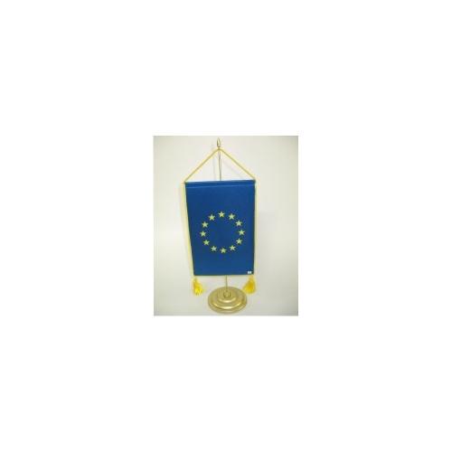 Fanion UE cu snur si ciucuri