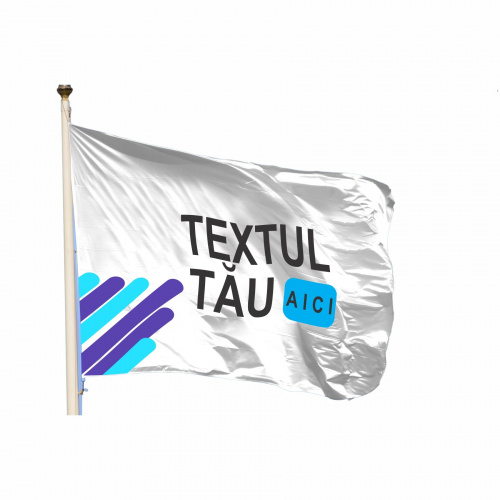 Steag orizontal personalizat