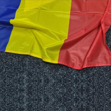detaliu flamura romania