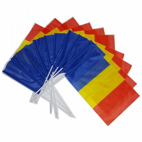 Stegulet Romania, 20x30 cm, cu betisor de plastic inclus